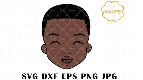 You must have an electronic cutting machine that reads svg or dxf files to use these designs like the silhouette. Cute Afro Boy SVG, Afro Puff Boy SVG, Afro Kid SVG ...