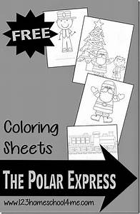polar express color pages - free polar express train coloring pages free homeschool