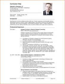 Free Resume Sle Doc Format by Free Resume Templates Select Template Improved