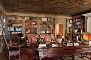 Library Rustic Interior Design For The Living Room