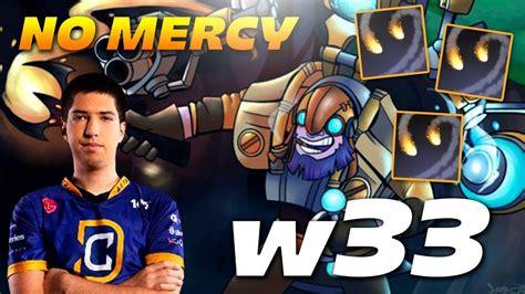 w33 tinker no mercy dota 2 pro mmr gameplay youtube