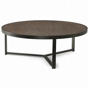 flexsteel wynwood collection carmen contemporary large With huge round coffee table