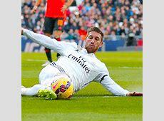 Sergio Ramos torn hamstring five weeks injury Real Madrid