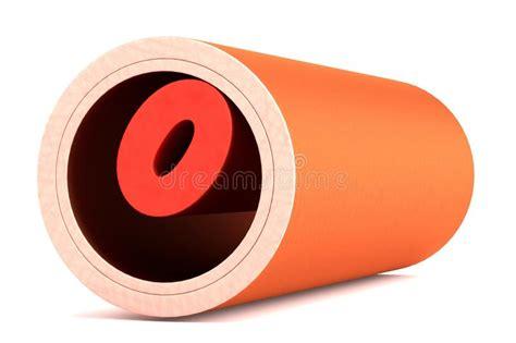 vaso sanguigno vaso sanguigno con colesterolo illustrazione di stock