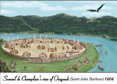 Maliseet Settlement  Saint John River
