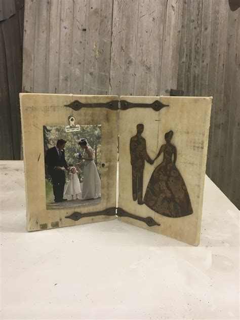 rustic wedding picture frame rustic metal letters wall art