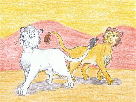 Kimba And Kitty By Mitchfoxbane On Deviantart