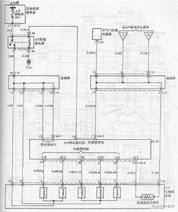 Automatic Transmission Circuit Of Hyundai Sonata With V4