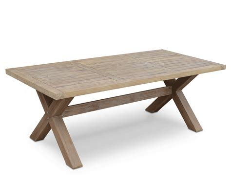 tahitian solid teak outdoor table united house