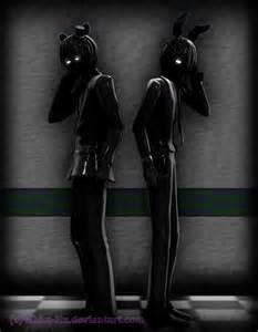 Freddy Shadow Shadow and Bonnie