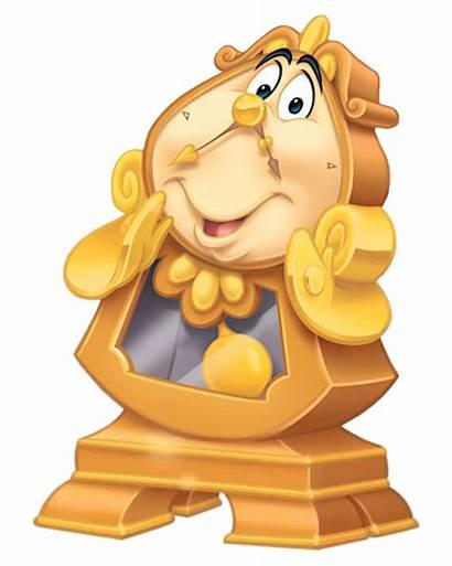Disney Cogsworth Wiki Beast Wikia Agentes Disneyland