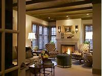 family room decorating ideas Formal Wall Decor Ideas With Elegant Wall Sconces For Traditional Family Room Layout With Round ...