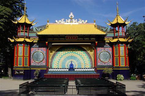 The Pantomime Theatre in Copenhagen's Tivoli Gardens ...