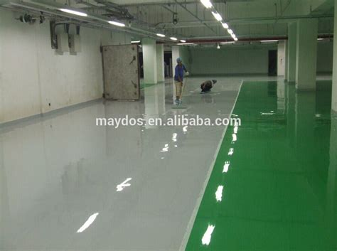 Hongkong Car Parking Lot Paint Epoxy Resin Flooring Paint