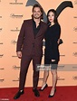 Luke Grimes and Kelsey Asbille attend the premiere party ...