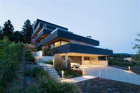 Moderne Häuser Terrassen by Terrassenhaus Meilen S 252 Dfassade Terrassen Mit