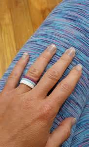 womens wedding ring chara harris pro player and fan of enso rings