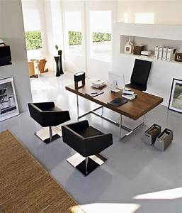 Modern Home Office To Play With Furniture And Lighting Fixtures
