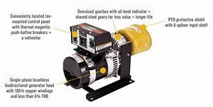 Northstar Pto Generator 7 800 Surge Watts  7 200 Rated