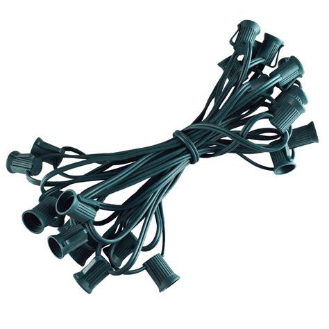 25 c9 stringer light strand green wire