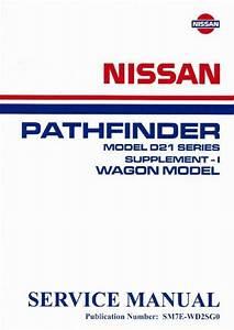 Nissan Navara D21 Pathfinder R50 1987