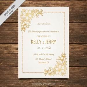 luxury wedding invitation gold background wedding With wedding invitation music free download