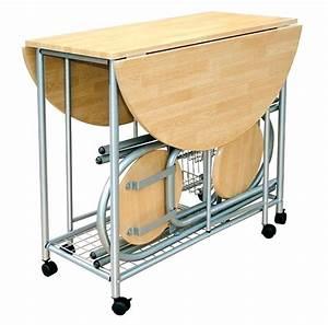Table Cuisine Avec Rangement : table pliante avec rangement chaise ~ Melissatoandfro.com Idées de Décoration