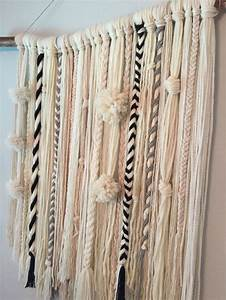 Best ideas about yarn wall hanging on diy
