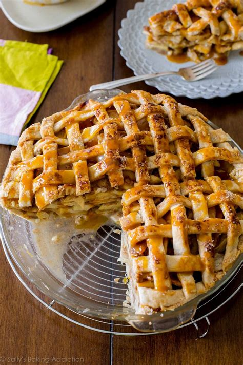 Salted Caramel Apple Pie by Top 10 Fashioned Pie Recipes You Are Going To