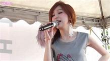 140817 第十個王心凌 簽唱會 陳淑芬與林志豪 台南南方公園 - YouTube