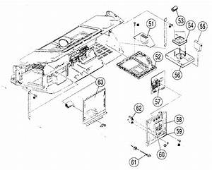 Chassis Assy Diagram  U0026 Parts List For Model Kdf42e2000