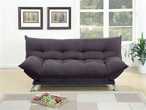 grey fabric adjustable sofa bed futon with flip up arms With sofa bed with adjustable arms