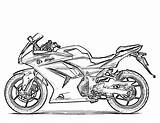 Motorcycle Coloring Pages Printable sketch template