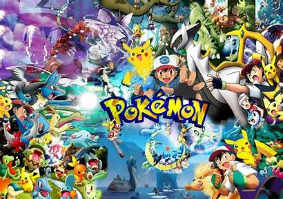 Pokemon Wallpapers Backgrounds Background Psd Animated