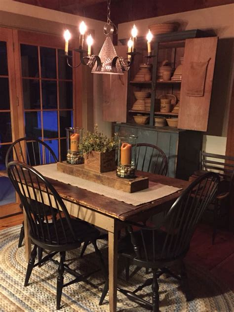 country kitchen table 25 best ideas about primitive dining rooms on 2905
