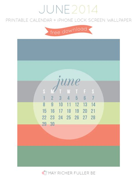 print calendar from iphone printable june calendar iphone lock screen wallpaper