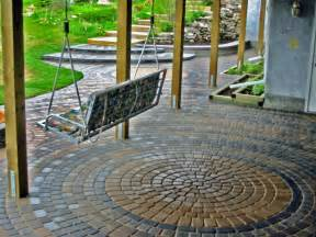 exterior simple and neat exterior garden decoration design in outdoor patio flooring ideas with