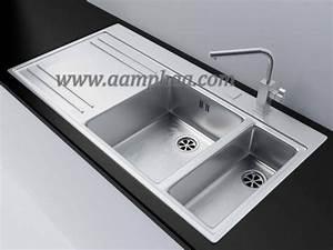 Evier Franke Catalogue : franke double bowl stainless steel sink aamphaa projects ~ Dode.kayakingforconservation.com Idées de Décoration