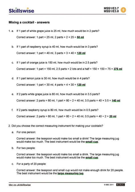 ratio and proportion word problems worksheets with answers
