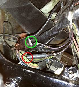 Wires Behind Instrument Cluster    Cigarette Lighter
