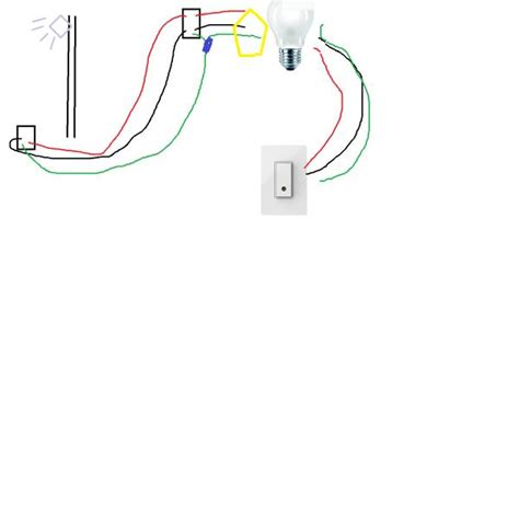 need help wiring garage flood light doityourself com community