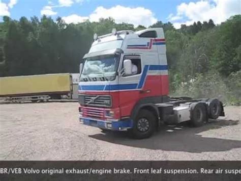 tractor truck volvo fh   youtube
