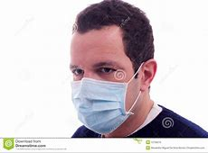 Man With A Medical Mask Royalty Free Stock Photo Image