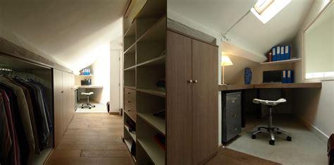dressing bureau bureau et dressing espace optimisé pour la suite parentale