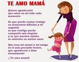 Versos bonitos para el día de la madre ~ PENSAMIENTOS DE ...