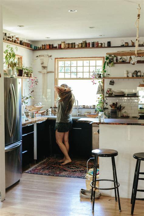 cuisine boheme chic chez emily katz l 39 intérieur d 39 une hippie moderne