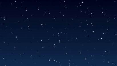 Night Stars Sky Animated Background Wallpapers Twinkling