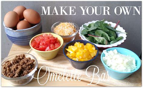 Make Your Own Omelette Bar