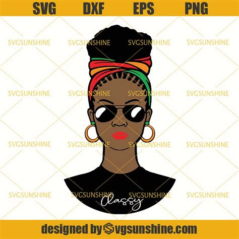 Our vector images come in 4 formats ready to use. Black Woman with Headwrap SVG , African American Woman SVG ...