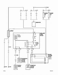 Howtorepairguide Com  Starter Relay Location And Wiring Diagram For Town And Country With A 3 3l